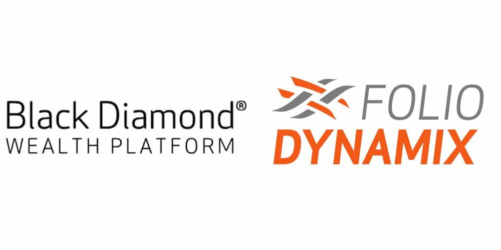 Black Diamond and FolioDynamix logos
