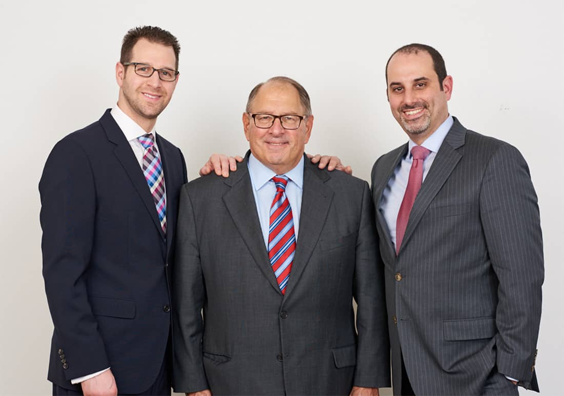 Dan Katz, Ken Katz and Micheal Israel, founders of Revolve Wealth Partners