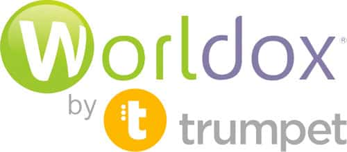 Logo for Worldox by Trumpet