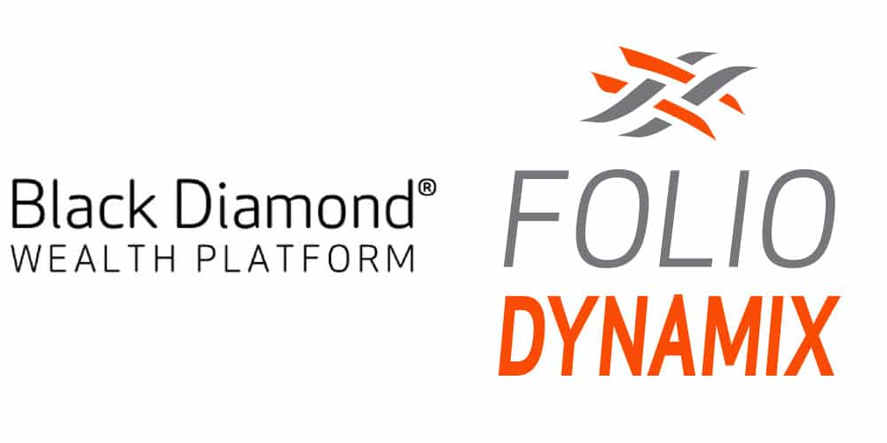 Black Diamond and Folio Dynamix logos